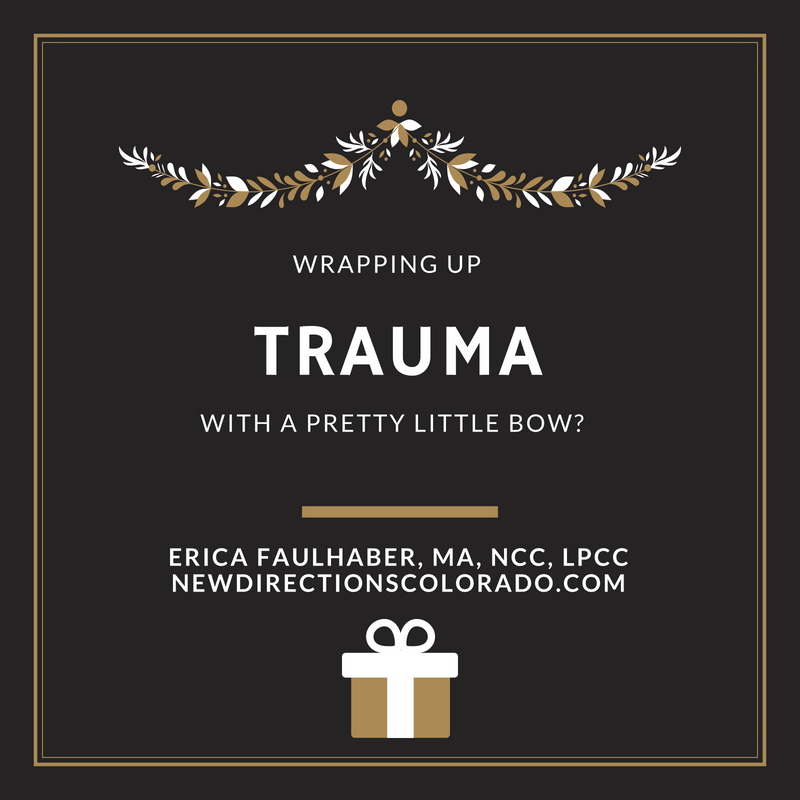 trauma little bow Wrapping up Trauma with a Pretty Little Bow?